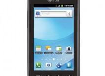 Samsung Rugby Smart smartphone