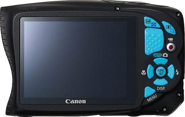 Canon PowerShot D20 camara pantalla