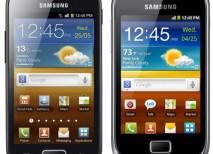Samsung Galaxy Mini 2 y Galaxy Ace 2