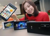LG Optimus 3D Cube movil