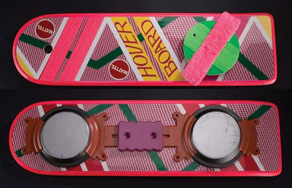 La réplica de los hoverboards de 'Regreso al Futuro' llegará a finales de 2012
