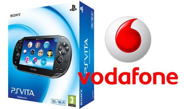 PS Vita y Vodafone