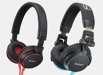 auriculares Sony MDR V55 y MDR ZX600