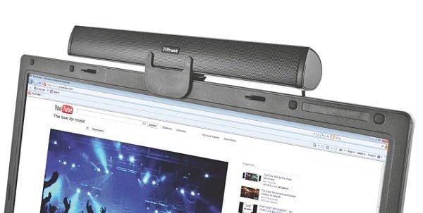 Trust Rayo Stereo Notebook Speaker