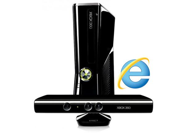 Xbox 360 - Internet Explorer