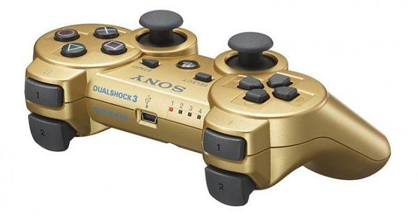 DualShock 3-dorado