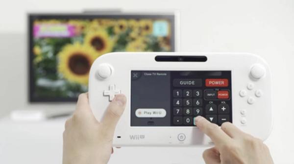 Nintendo Wii U mando táctil