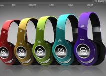 VE Headphones auriculares pantalla lcd
