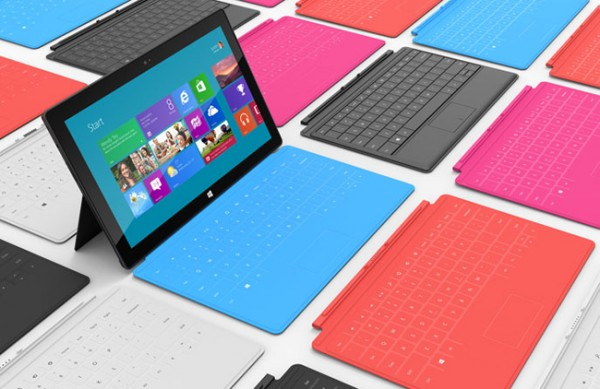 Funda con teclado del tablet de Microsoft, Surface