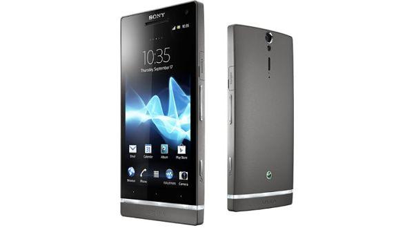 Sony Xperia S-Dark Silver