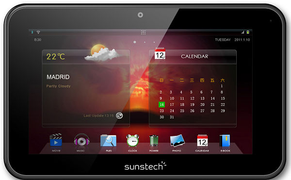 Sunstech TAB700 tablet