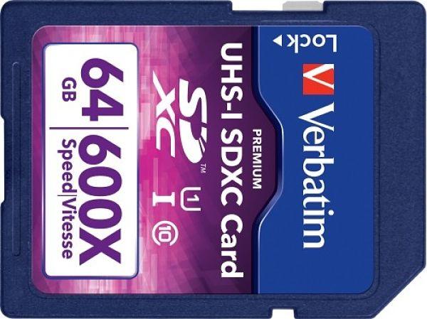 Verbatim UHS-I 64 GB