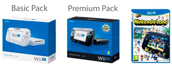 Wii U lanzamiento