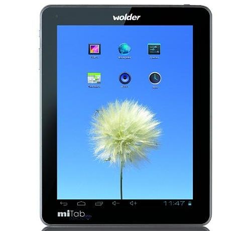 Wolder miTab DIAMOND tablet