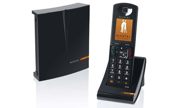 Alcatel IP1020 telefono dect ip
