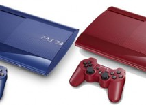 PS3 azul roja