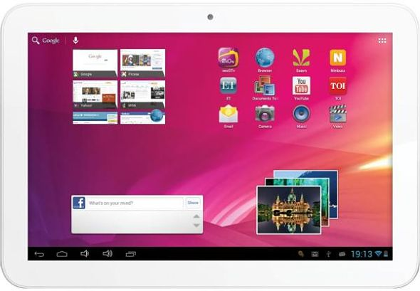 Videocon VT10 tablet