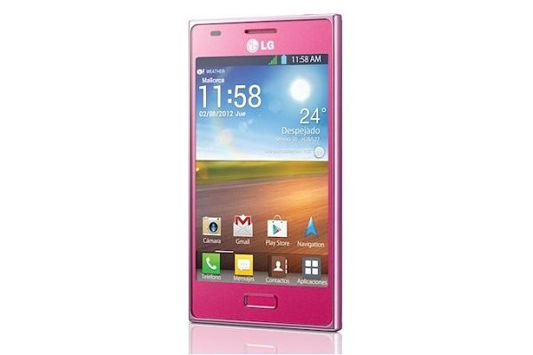 LG Optimus L5 Pink Edition