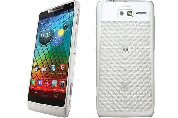 Motorola RAZR i White