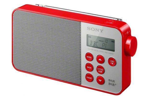 Sony XDR-S40DBP radio