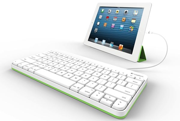 Logitech Wired Keyboard teclado ipad