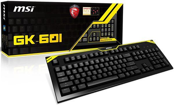 MSI GK-601 teclado gamer