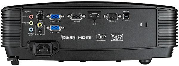 Optoma W303 proyector conexiones