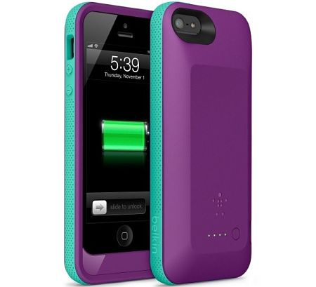 belkin Grip Power Battery Case iphone 5