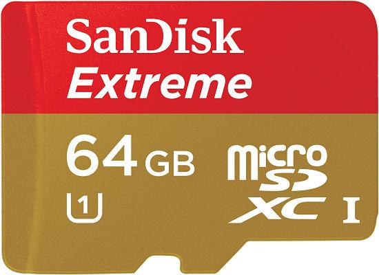 SanDisk Extreme microSDXC 64 GB