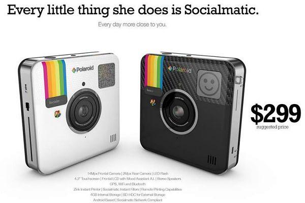 Socialmatic camara Polaroid Instagram precio