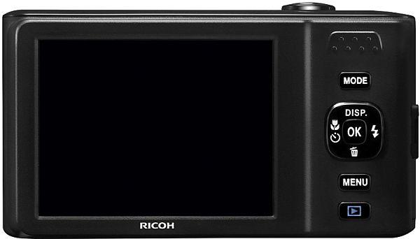 Ricoh HZ15 pantalla